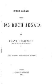 Biblischer Commentar über das Alte Testament: Prophet Jesaia