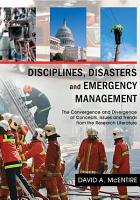 Disciplines  Disasters and Emergency Management PDF