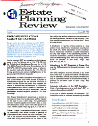 Estate Planning Review PDF