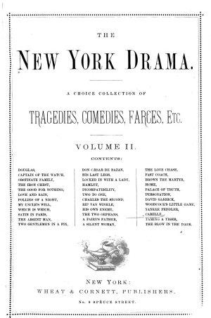 The New York Drama  no  13 24