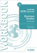 Cambridge Igcse and O Level Business Studies Workbook 2nd Edition PDF