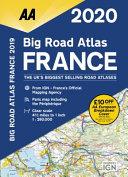 Big Road Atlas France 2020