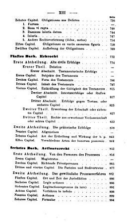 Das Privatrecht und der Civilprozess der R  mer von der   ltesten Zeit bis auf Justinianus PDF