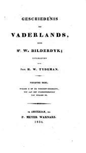 Geschiedenis des vaderlands: Deel 9