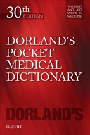 Dorland s Pocket Medical Dictionary PDF