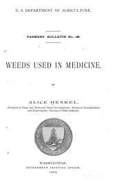 Weeds Used in Medicine