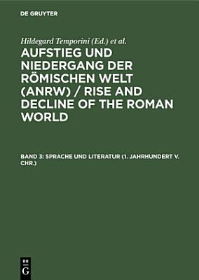 Sprache und Literatur  1  Jahrhundert v  Chr   PDF