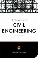 The New Penguin Dictionary of Civil Engineering PDF
