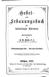 Gebet- und Erbauungsbuch für katholische Christen