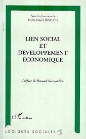 Lien social et développement économique