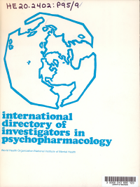 International Directory of Investigators in Psychopharmacology PDF