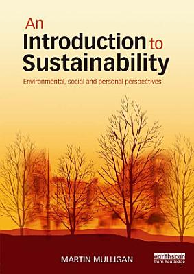 An Introduction to Sustainability PDF