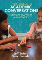 The K 3 Guide to Academic Conversations PDF