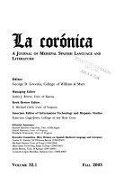 La Corónica
