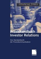 Praxishandbuch Investor Relations PDF
