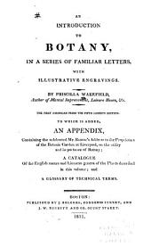 Introduction to Botany: In a Series of Familiar Letters