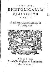 Epistolicarum quaestiones libri V