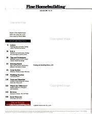 Fine Homebuilding PDF