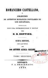 Romancero castellano: ó Colección de antiguos romances populares de los espa~noles, Volúmenes 1-3