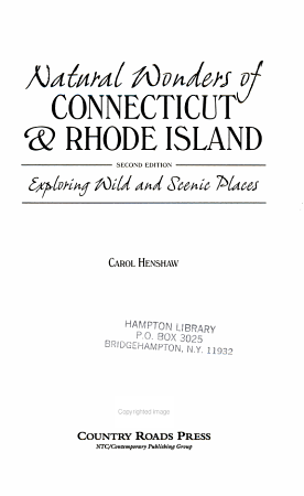 Natural Wonders of Connecticut   Rhode Island PDF