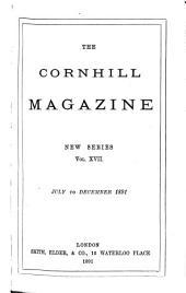 The Cornhill Magazine: Volume 17; Volume 64