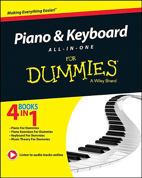 Download Piano and Keyboard All in One For Dummies Book