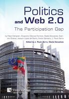 Politics and Web 2 0  The Participation Gap PDF
