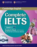 Complete IELTS Bands 4 5 Student s Pack  Student s Book with Answers with CD ROM and Class Audio CDs  2   PDF