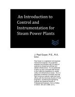 An Introduction to Control and Instrumentation for Steam Power Plants PDF