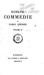 Scelte commedie di Carlo Goldoni: Volumi 11-12