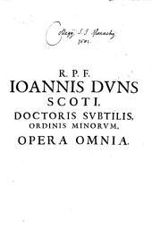 Opera omnia, quae hucusque reperiri potuerunt: Volume 1