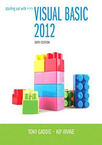 Starting Out With Visual Basic 2012 PDF