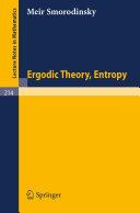 Ergodic Theory Entropy