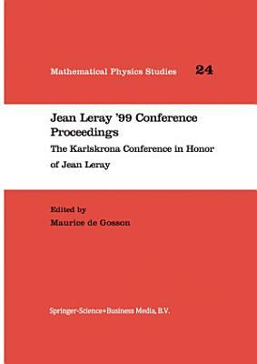 Jean Leray    99 Conference Proceedings