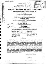 Lake Arterial Extension, WI-TH-31 to Layton Ave, Kenosha, Racine and Milwaukee County: Environmental Impact Statement
