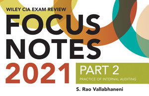 Wiley CIA Exam Review Focus Notes 2021  Part 2 PDF