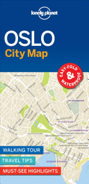 Lonely Planet Oslo City Map