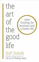 The Art of the Good Life Book