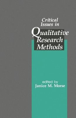 Critical Issues in Qualitative Research Methods PDF