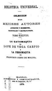 La gatomaquia de Lope de Vega Carpio y La perromaquia de Francisco Nieto de Molina