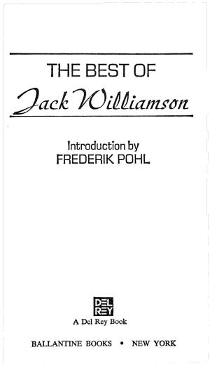 The Best of Jack Williamson