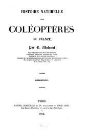 Histoire Naturelle des Coléoptères de France: Volume14