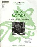 New Books on Women  Gender and Feminism PDF