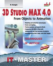3D Studio Max: from objects to animation