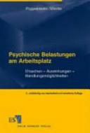 Psychische Belastungen am Arbeitsplatz PDF