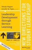 Leadership Development through Service Learning PDF