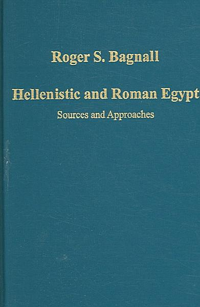 Download Hellenistic and Roman Egypt Book