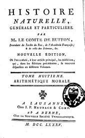 Histoire naturelle, générale et particuliere ...