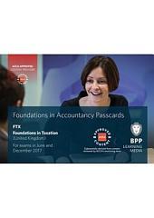 FIA Foundations in Taxation FTX FA2016
