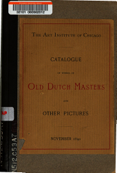 Catalogue of works of old Dutch masters and other pictures